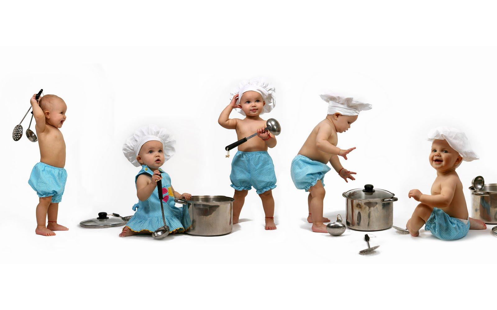 Funny Baby Desktop Wallpaper Photo