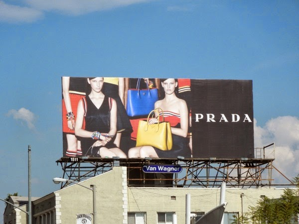 Prada ready-to-wear Spring 2014 billboard