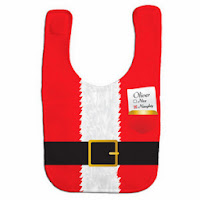 Psychobaby Check It Twice Santa Bib