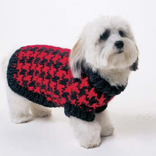 Dog Tooth Knitting Pattern : Miss Julias Patterns: Free Patterns - All About Dogs ...