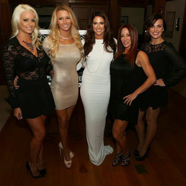 Kelly Kelly Hanging Out with Her.