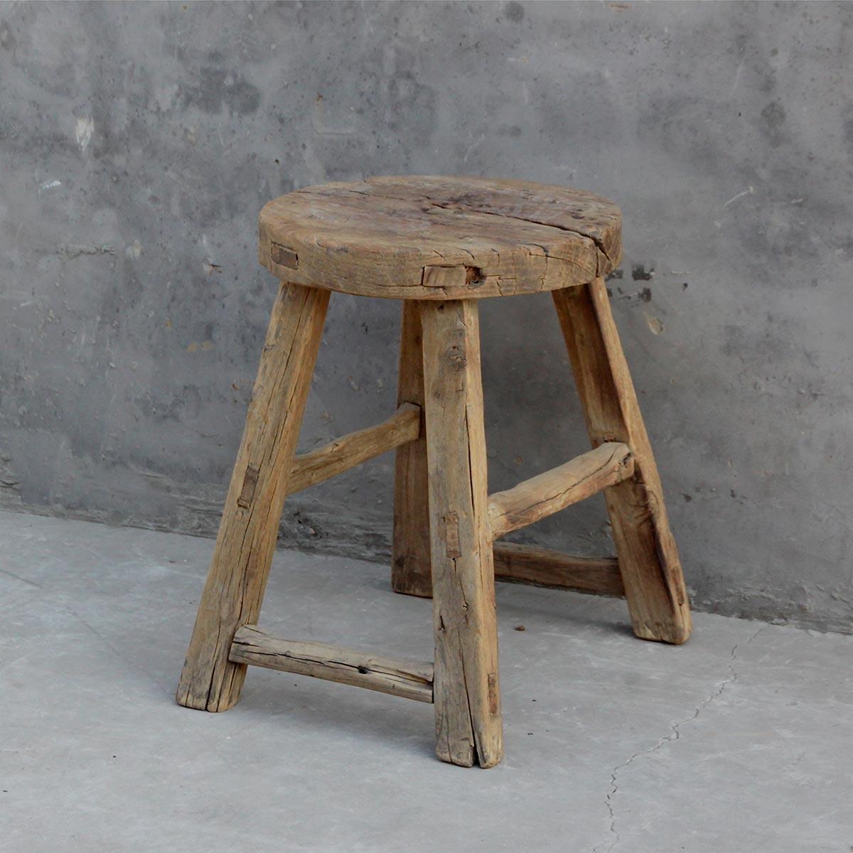Restauracion y decoracion de madera taburetes antiguos o - Taburete de madera ...