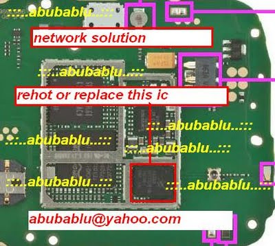 All Gsm Solution: Nokia X1-01 network solution