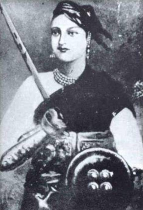 rani lakshmi bai bravery woman Central to the fight for independence was the bravery and heroism of a young woman in a small state in rani lakshmi bai of jhansi allahabad, india: chugh.