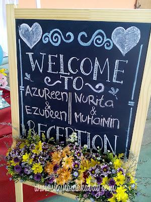 Majlis Perkahwinan Dua Pasang Pengatin Serentak