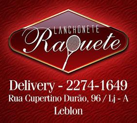 LANCHONETE RAQUETE - RIO DE JANEIRO