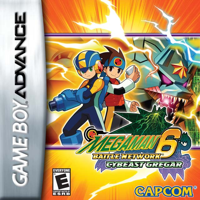 Mega Man Battle Network 6 Cybeast Gregar(GBA)