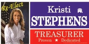 Re-Elect Kristi Stephens Stone County Treasurer