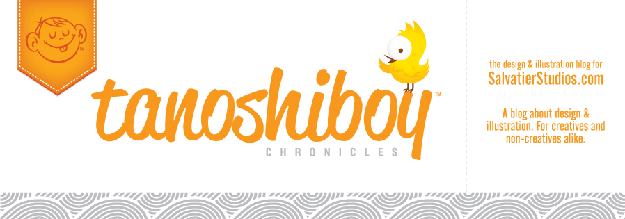 The Tanoshiboy Chronicles: Design & Illustration Blog