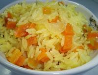 Arroz com Cenoura (vegana)