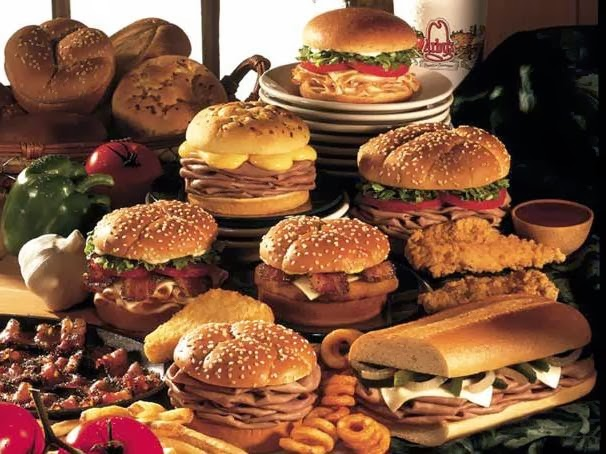 Arby's sandwiches