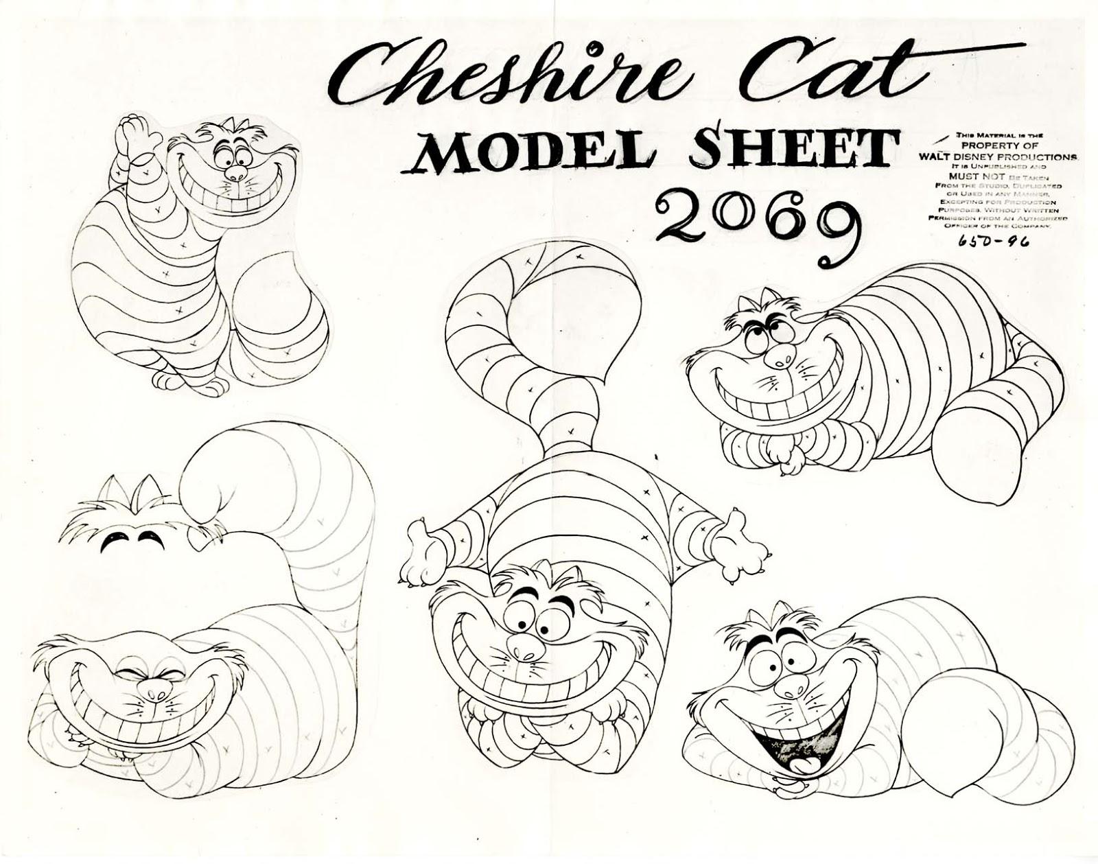 Lujo Disney Cheshire Cat Para Colorear Componente - Dibujos Para ...