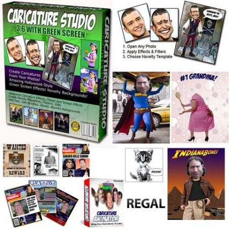 Caricature Studio 6.6.12.526 ~ Free Software