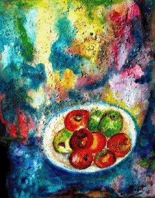 Plàtera de pomes (Ramon Navarro Bonet)