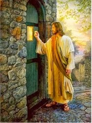 JESUS HAS BEEN KNOCKING ON THE DOOR OF YOUR HEART TODAY!!