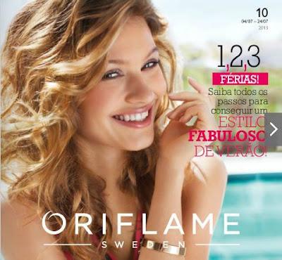 Verão e Férias com o catálogo Oriflame