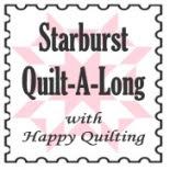 starburst quilt a long