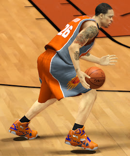 NBA 2K13 Li-Ning Hero Dragon Scale - Year Of The Dragon Shoes Patch