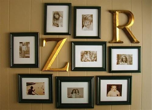 dekoratif r harfi