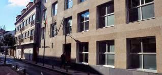 Edificio judicial de Cambados, donde se ubican las cuatro salas. // Iñaki Abella