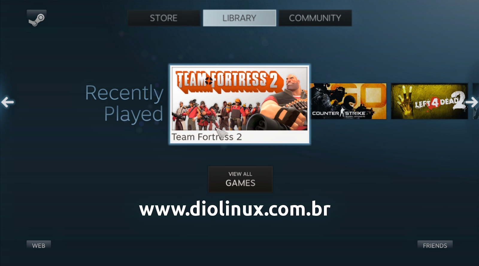 Instalando a Steam OS no Ubuntu