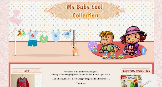 Tempahan Design Blog: My Baby Cool Collection