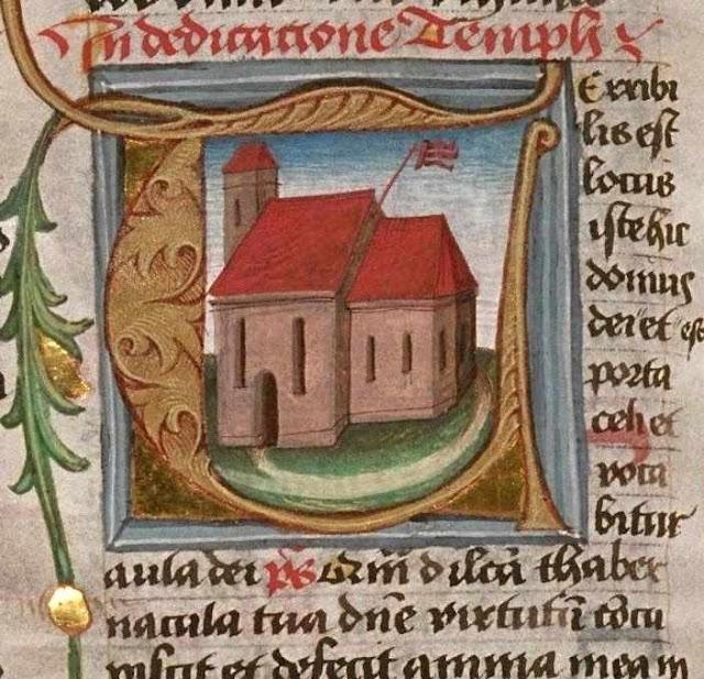 Dedicação de uma igreja.  Biblioteca Univ. de Tecnologia Sydney, manuscrito MS 03