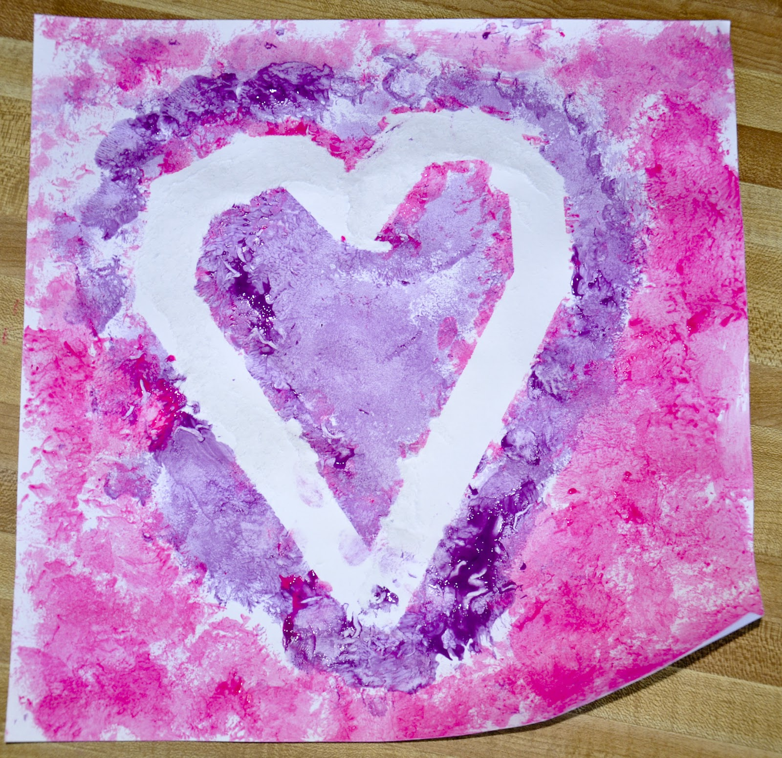 Aunt tami 39 s house valentine 39 s day craft for Valentine craft projects kids