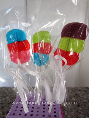 Jolly Rancher lollipops