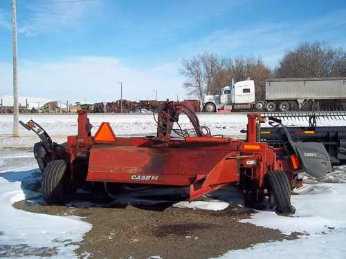 Case-IH mower conditioner