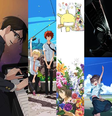 Próximos animes que ocuparan el bloque Noitamina de 2012