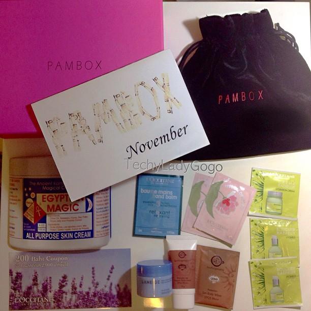 แกะกล่อง PAMBOX พฤศจิกายน 2555