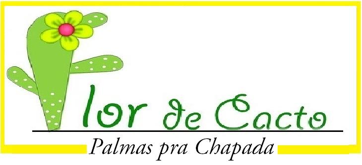 Flor de Cacto - Palmas pra Chapada