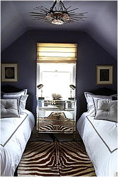 Language of color and texture great design for sloped Rules for painting ceilings