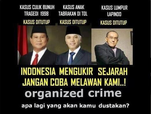 Kejahatan Prabowo