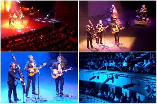 Café Quijano en concierto y publico el 23 de enero de 2016 en el Teatro de la Laboral en Gijon
