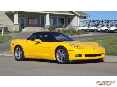 2005 Corvette Convertible at Purifoy Chevrolet