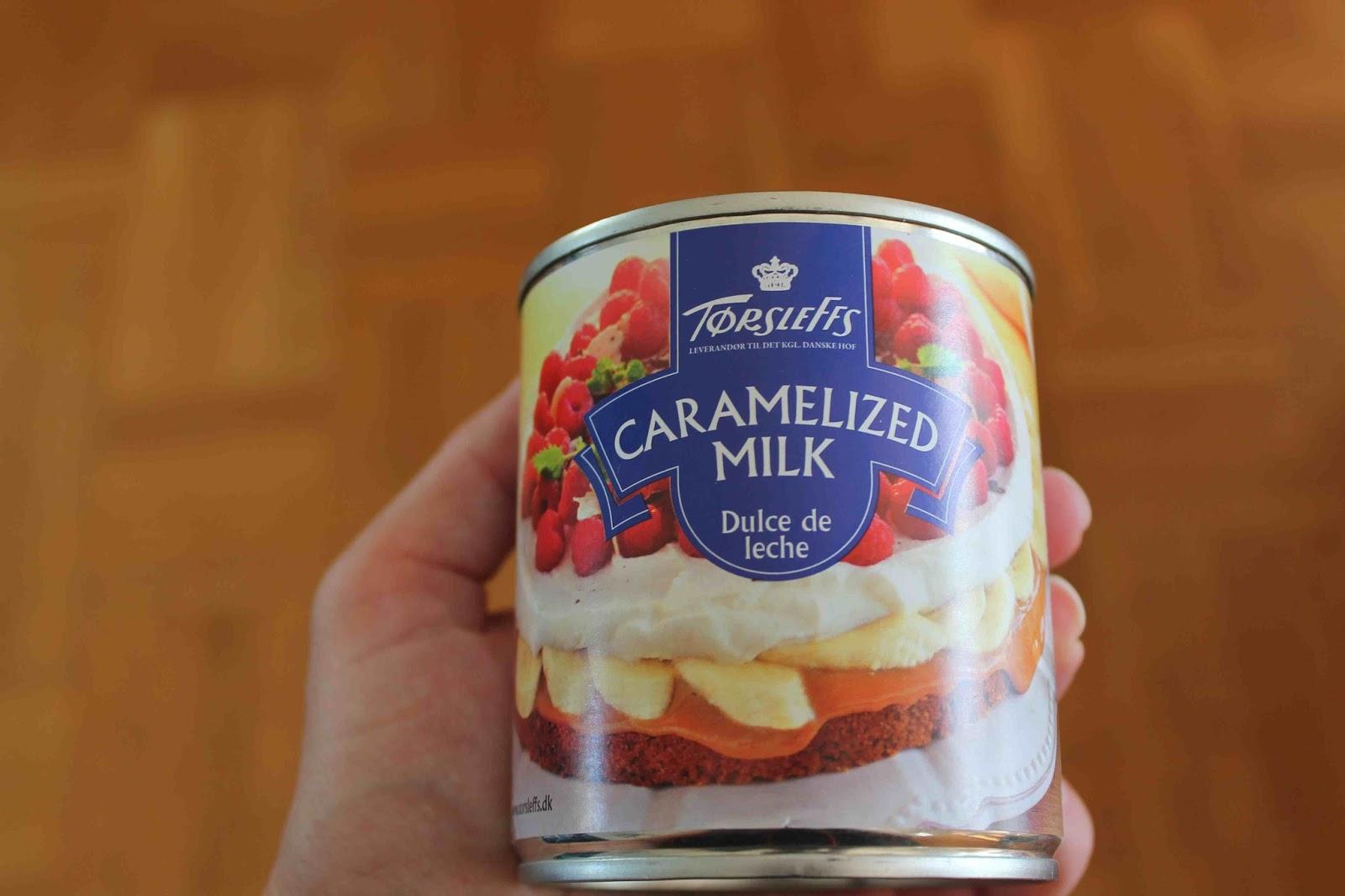 Kolasås karamelliserad mjölk