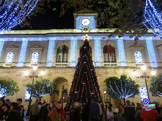 Sevilla - Alumbrado navideño 2014 - Ayuntamiento