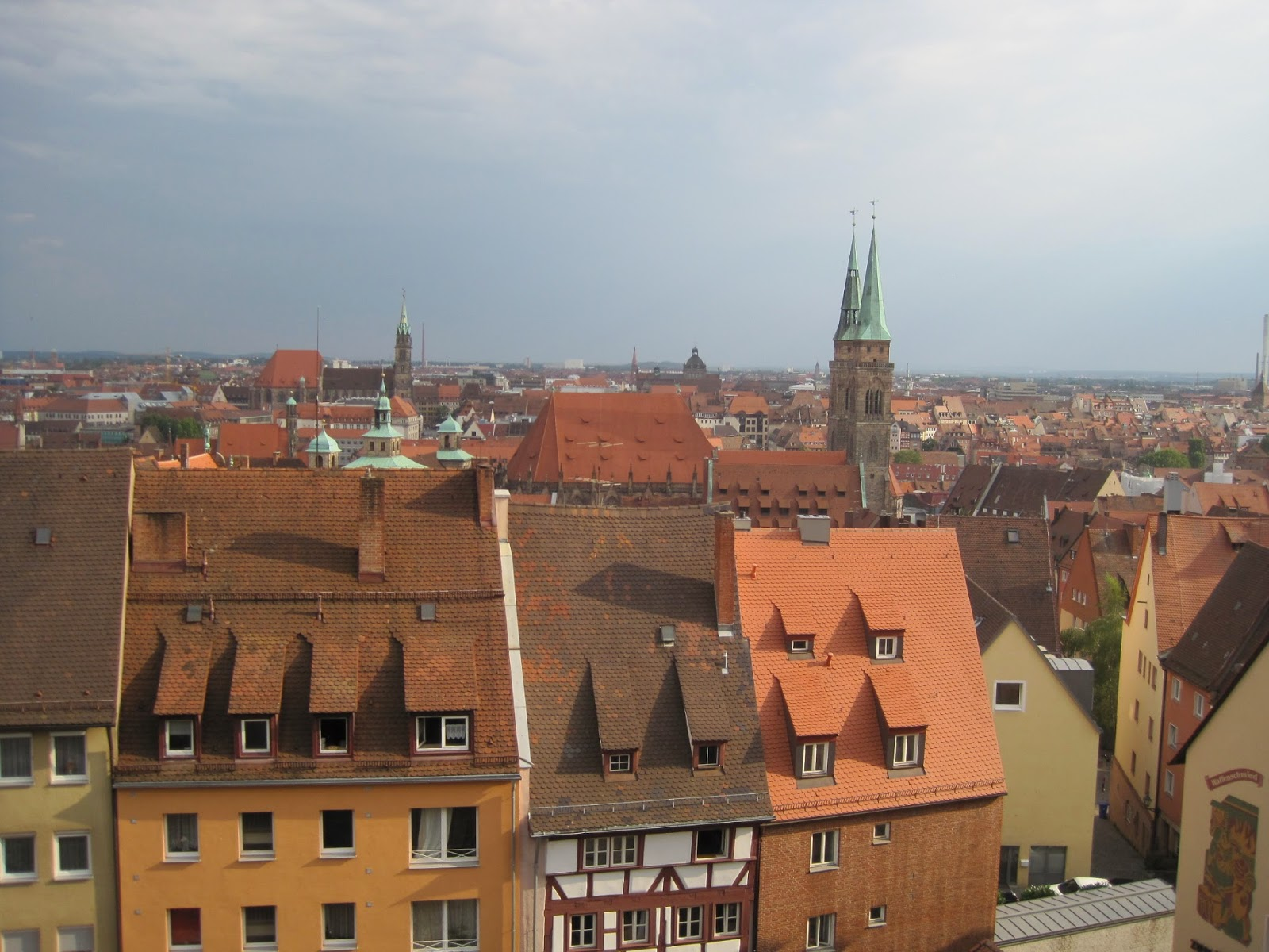The view from Nuremberg Castle