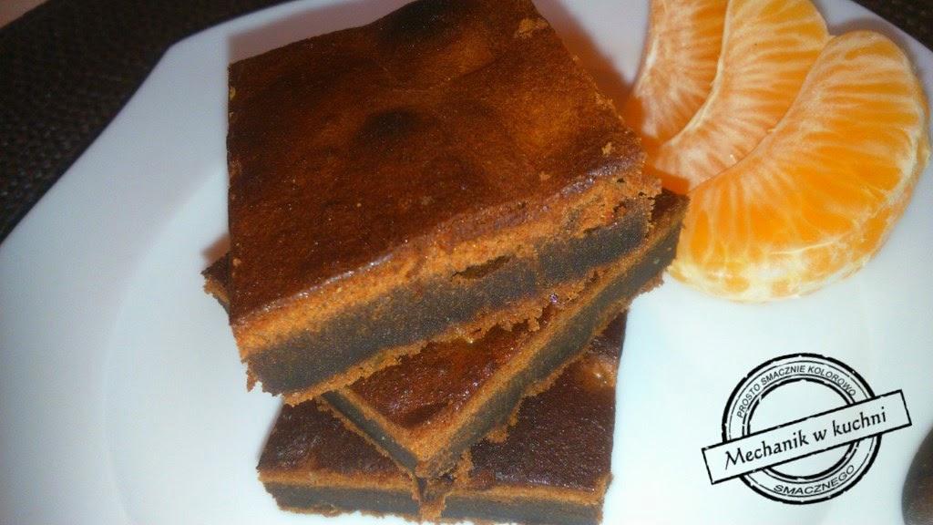 Brownie ciasto czekoladowe chocolate deser nieudane mechanik z pszczyny w kuchni