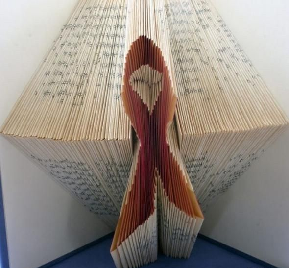 Interesting Art - Folding Book Pages