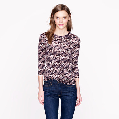Tippi Sweater in Tipsy Parsons Print