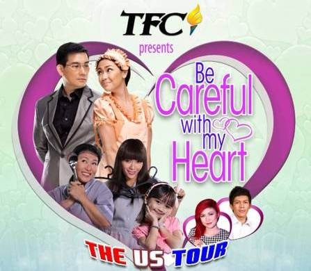 Be Careful With My Heart US Tour