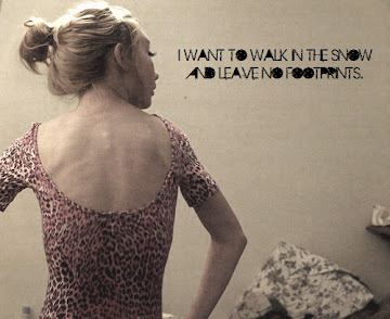 Quiero caminar en la nieve y no dejar huellas