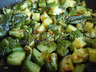 zucchine piccanti profumate