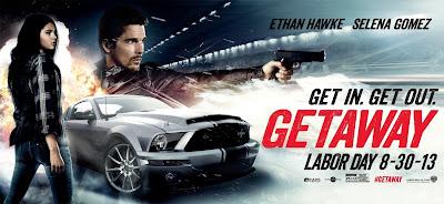 Getaway Movie Banner Poster