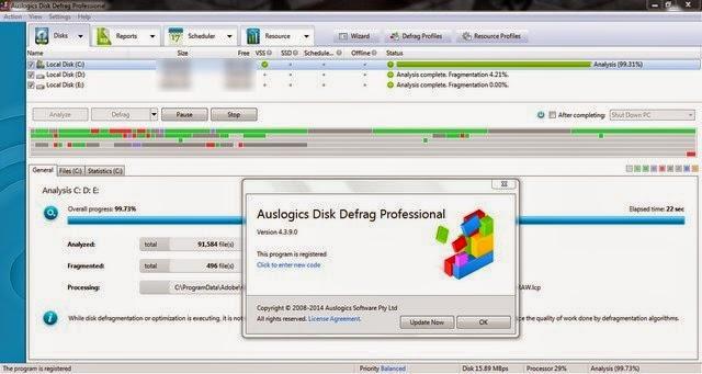 Auslogics Disk Defrag Professional 4.3.9.0 DC 24.0. rar.