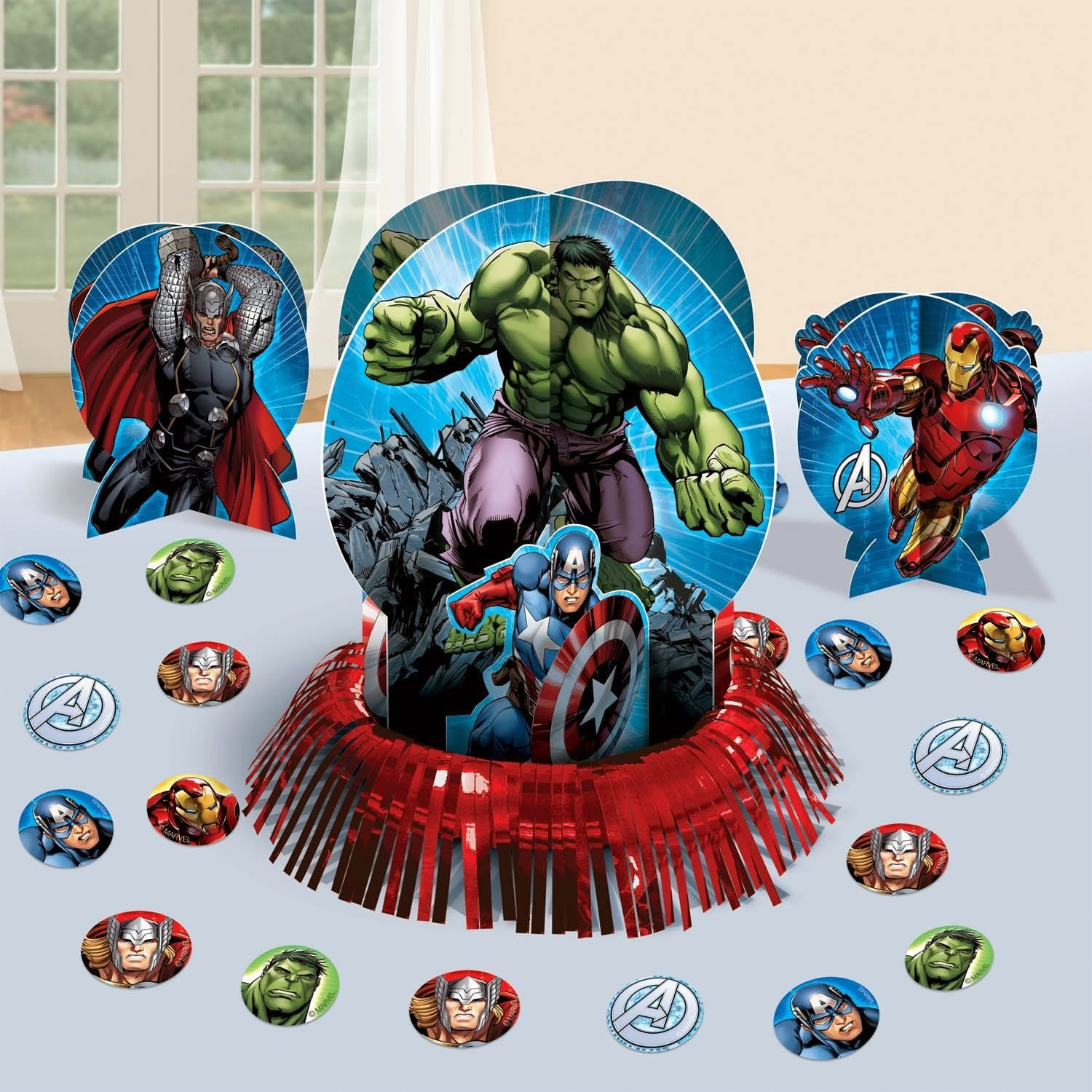 Marvels Avengers Themed Party Supplies and Ideas  Fun Themed Party ...