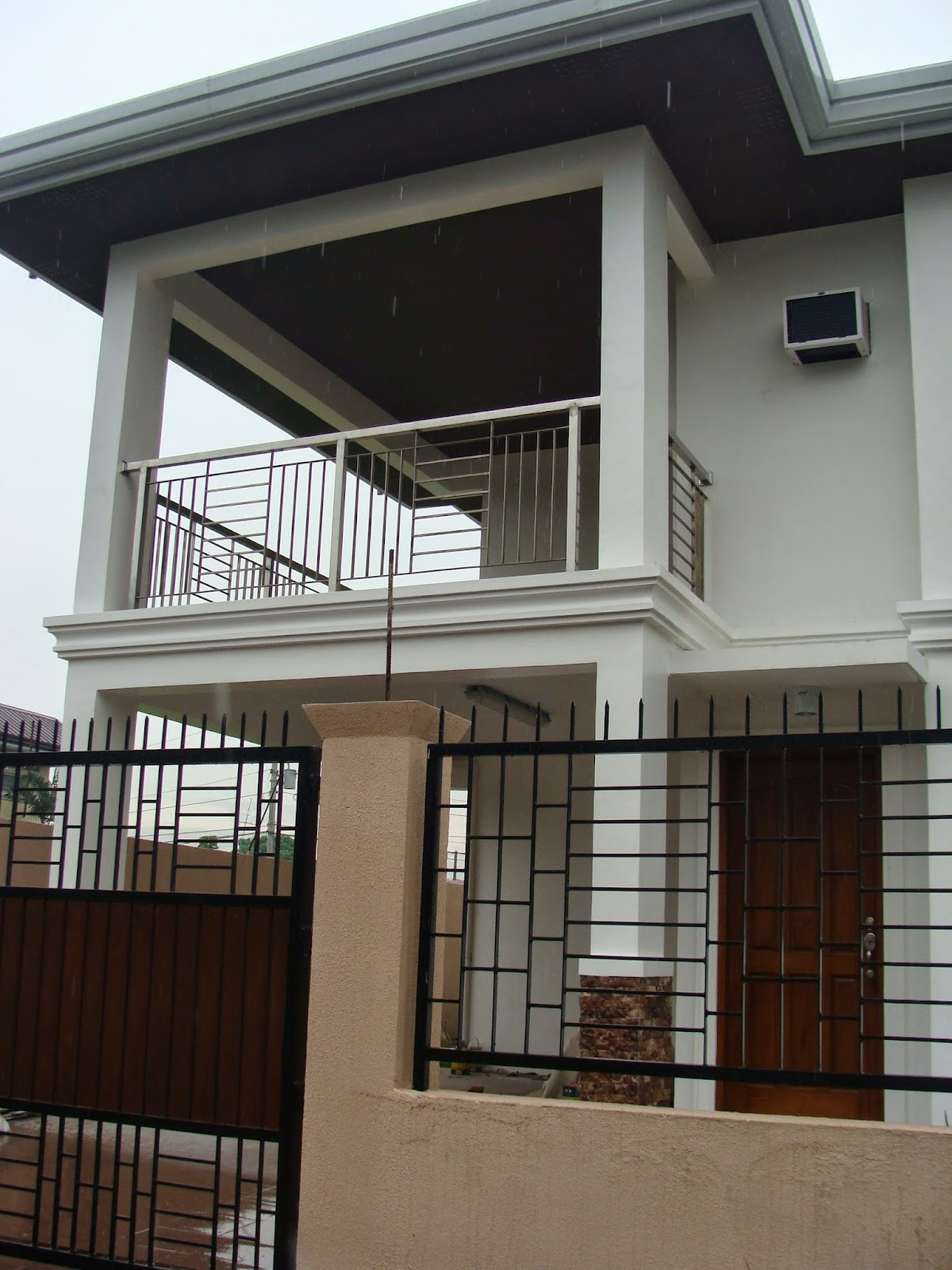 ... Glenville Subdivision House Construction Project In For Simple Design  House Philippines ...